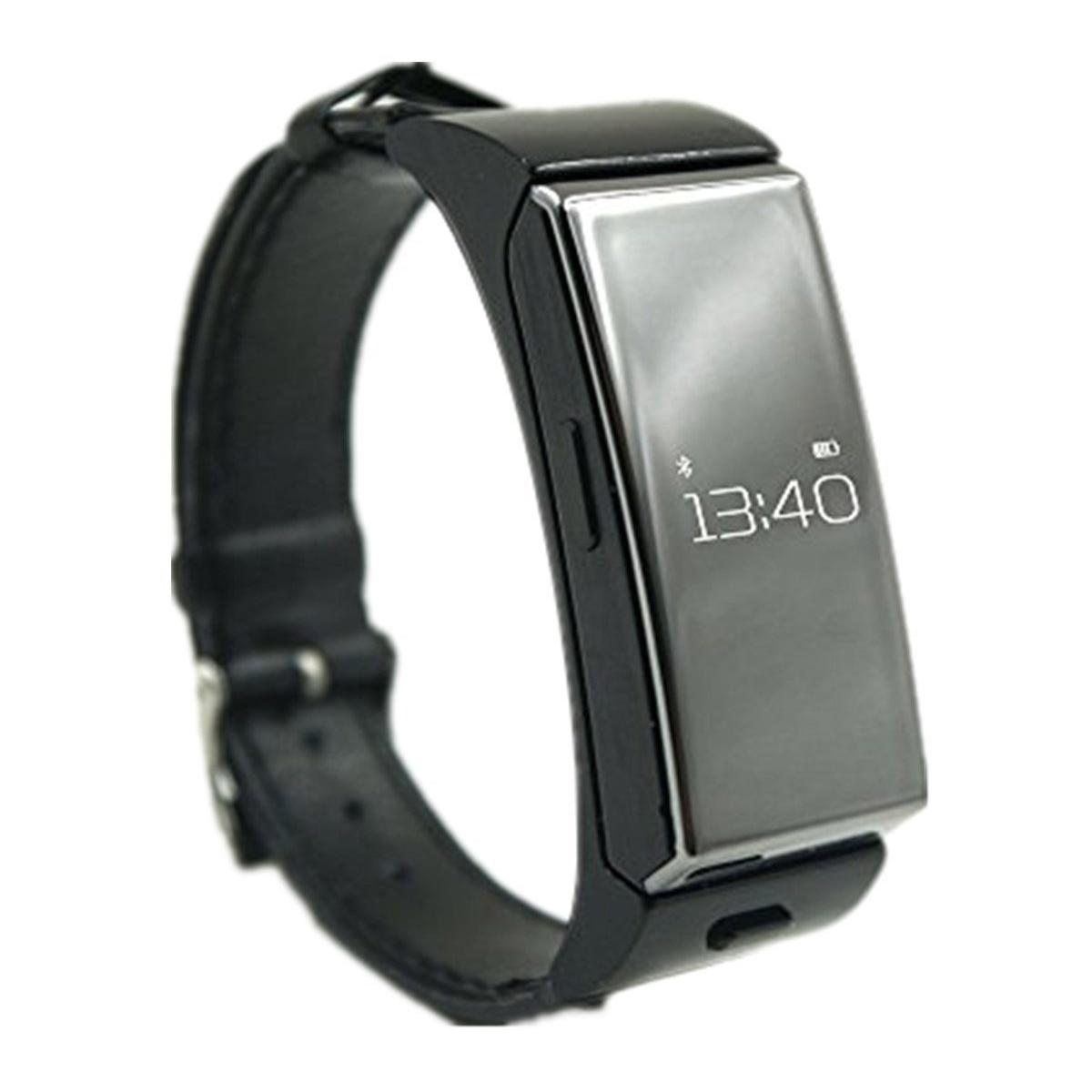 font b SmartWatch b font U20 Bluetooth Headset Personal Smart Wearable Bracelet Heartrate Monitor Remote