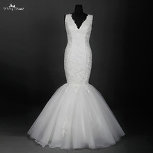 yiaibridal RSW886 Floor Length Mermaid Wedding Dresses