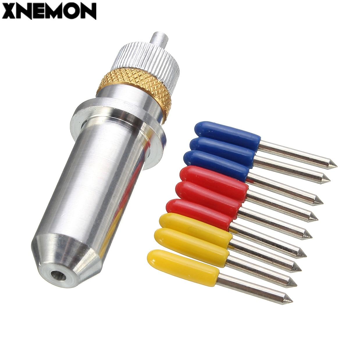 Xnemon 9pcs Set 30 45 60 Degree Roland Cutting Plotter