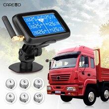 CAREUD U901 LCD Display Auto Truck font b TPMS b font Car Wireless Tire Pressure Monitoring