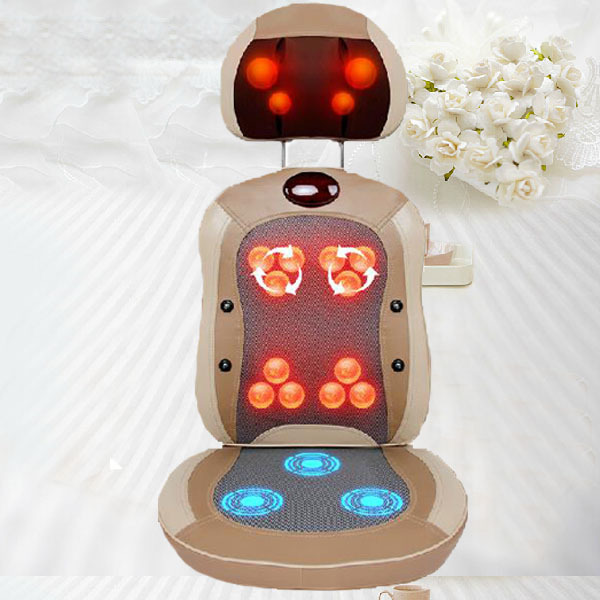 Infrared Heated Massage Chair Cushion Shiatsu Keneading Relax Massage Pillow For Sale сервировочная салфетка domenik 1001 nights 50 35 см