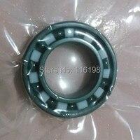 Free Shipping 6806 Full SI3N4 Ceramic Deep Groove Ball Bearing 30x42x7mm