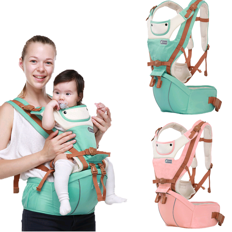 Ergonomic Baby Carrier 0-36 Months Breathable Front Facing Infant Comfortable Sling Backpack Pouch Wrap Baby Kangaroo Newborn gabesy baby carrier ergonomic carrier backpack hipseat