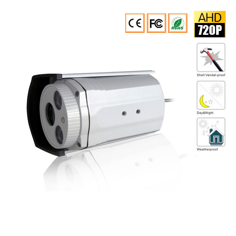 1080P AHD Camera 720P HD Outdoor Bullet Camera Waterproof IR 20M,36 Leds Night Vision Security 2MP CCTV AHD Camera hd ahd cvi tvi cvbs bullet camera with alarm speaker waterproof ip67 hd 1080p 4 in 1 security camera outdoor night vision ir 20m