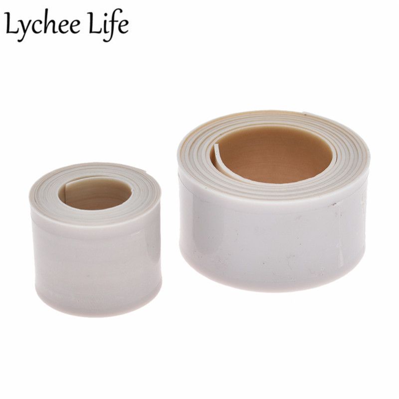 Lychee Life 90x2.5cm Presser Foot Useful Tape Teflon Sewing Machine Parts DIY Handmade Home Factory Sewing Accessories Supplies