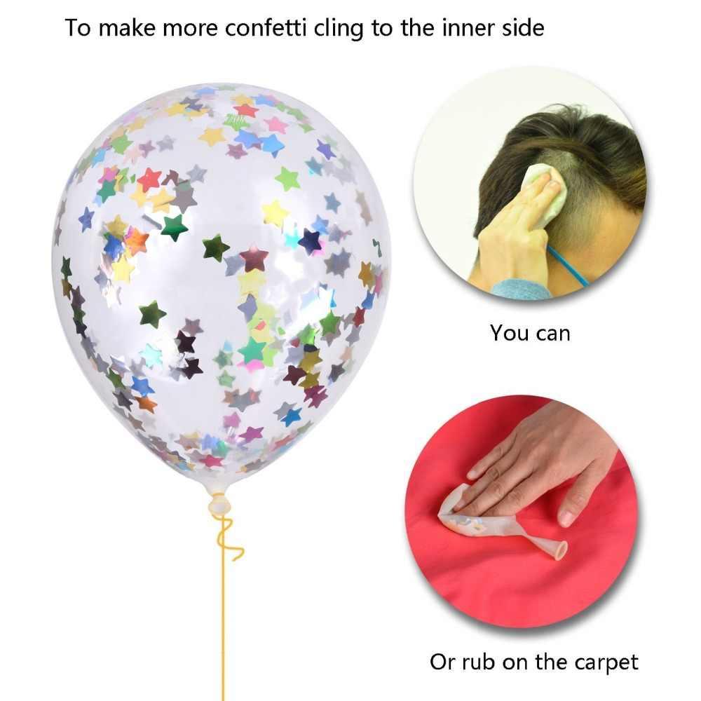 1 definir Feliz Aniversário Banner Carta Ouro Rosa Confetti Balões Decorações Da Festa de Aniversário Do Chuveiro de Bebê Da Menina do Menino Caçoa Favores de Partido