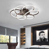 Lustre moderne éclairage pour salon Luminarine avize Lustre de plafond moderne 90-265V lustre chambre plafond Lustre