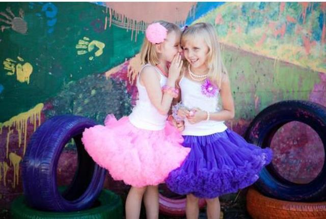 Fashion new Style For Girls ball gown skirt girls tu tu  Eleven children skirt Dance evening party skirt  free shipping