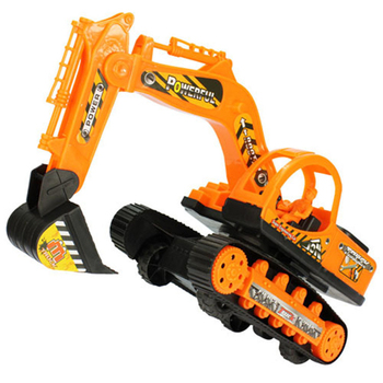Inertial Excavator toys Kids Truck Back Car Plastic Beach toy Excavator Engineering Car Kids Toys Xmas Gifts Children's Toys 1