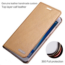 LANGSIDI leather case For Huawei p30 pro p20 lite p8 p9 p10 mate 20 10 flip phone handmade Phone with card slot stand