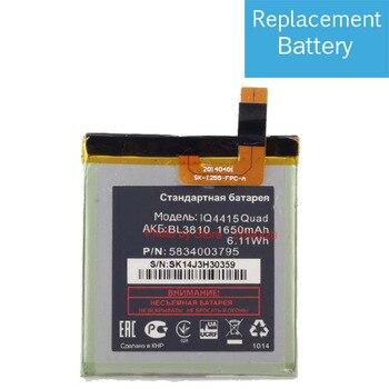 3,7 V 1650mAh reemplazo de BL3810 batería para Fly IQ4415 Quad BL 3810 batería, pila de batería baterías de teléfono