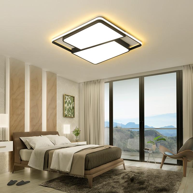 Minimalist Study Room: Modern Minimalist Living Room Led Ceiling Lamp Restaurant