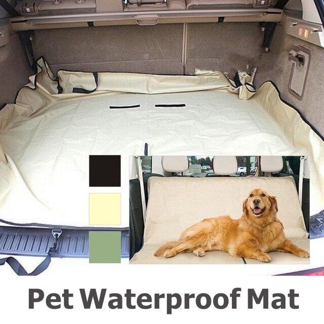 Автомобильный держатель собака / спинку заднего сиденья обложка пэт пвх водонепроницаемый мат Pad одеяло гамак подушка протектор товаров для домашних животных