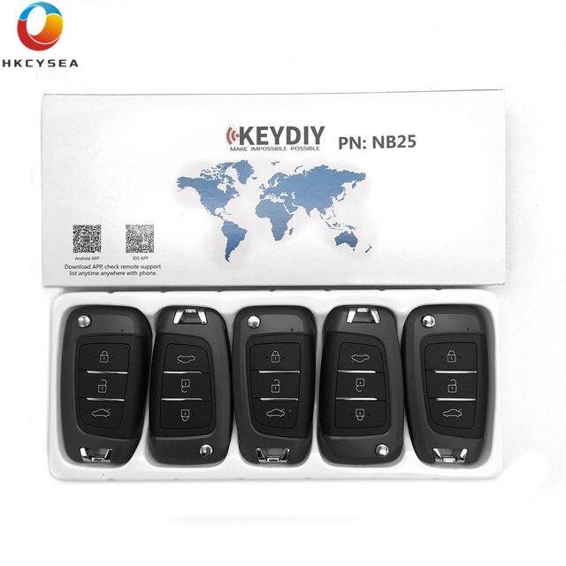 HKCYSEA 5PCS/LOT 3 Button KD NB Series Universal Multifunctional NB25 Remote for URG200 KD900 KD200 KD-X2 Remote Generator