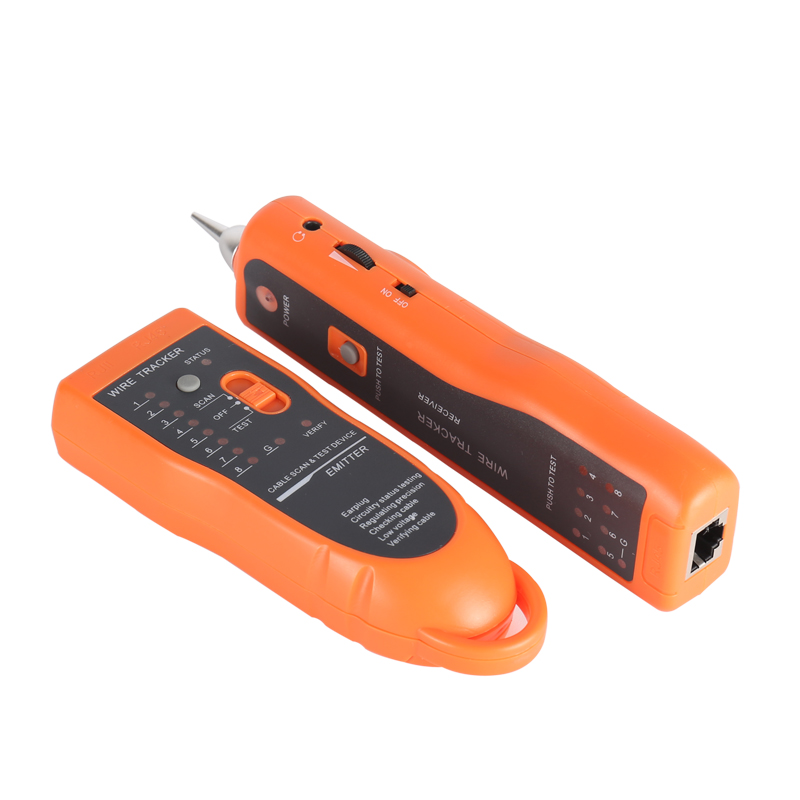 aaaaRJ11 RJ45 Cat5 Cat6 Telephone Wire Tracker Tracer Toner Network Cable Tester