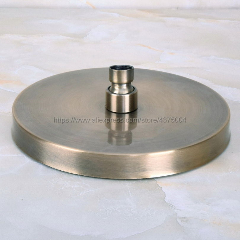 7 7 inch Round Modern Bathroom Rain Shower Head Antique Bronze Shower Sprayer Bathroom Shower Head