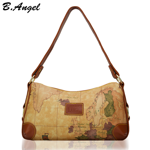 High quality world map women bag fashion women messenger bags high high quality world map women bag fashion women messenger bags high capacity handbag crossbody bags for gumiabroncs Choice Image