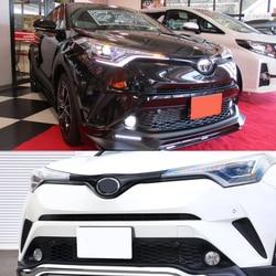 JY ABS Anteriore Della Lampada Della Nebbia Kit Car Styling Accessori Per Toyota CHR C-HR 2016-2017