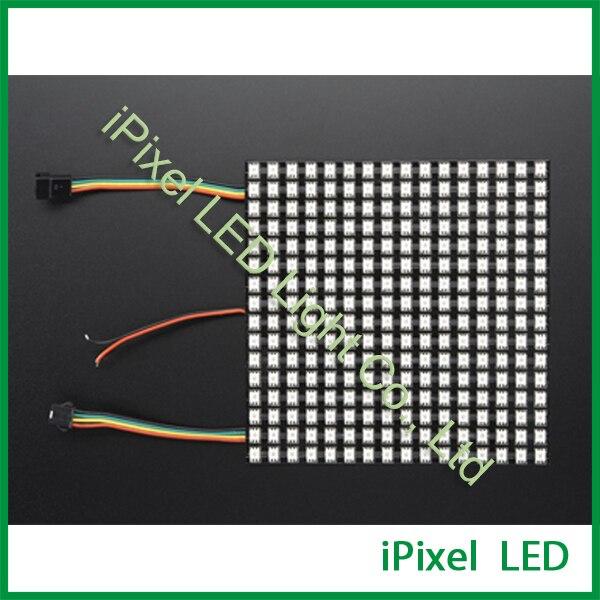 16x16 piksel kare apa102 led esnek matris16x16 piksel kare apa102 led esnek matris