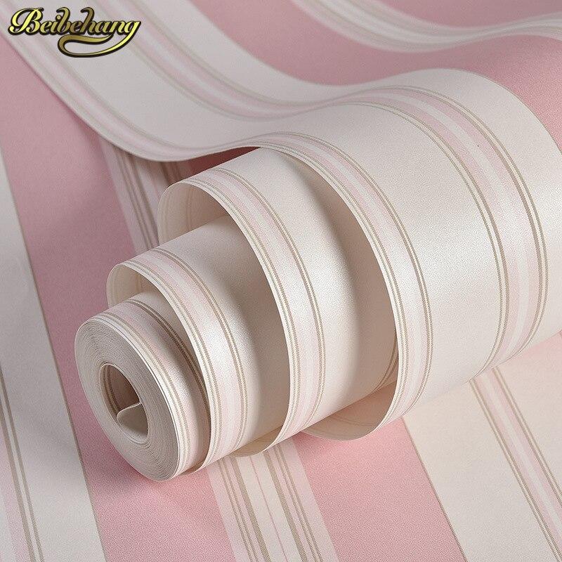 Online Get Cheap Roze Strepen Muur Papier -Aliexpress.com ...