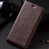 PALUNI For Huawei Honor 6C 5 0 Case Cover Crazy Horse Luxury Flip Genuine Leather Case