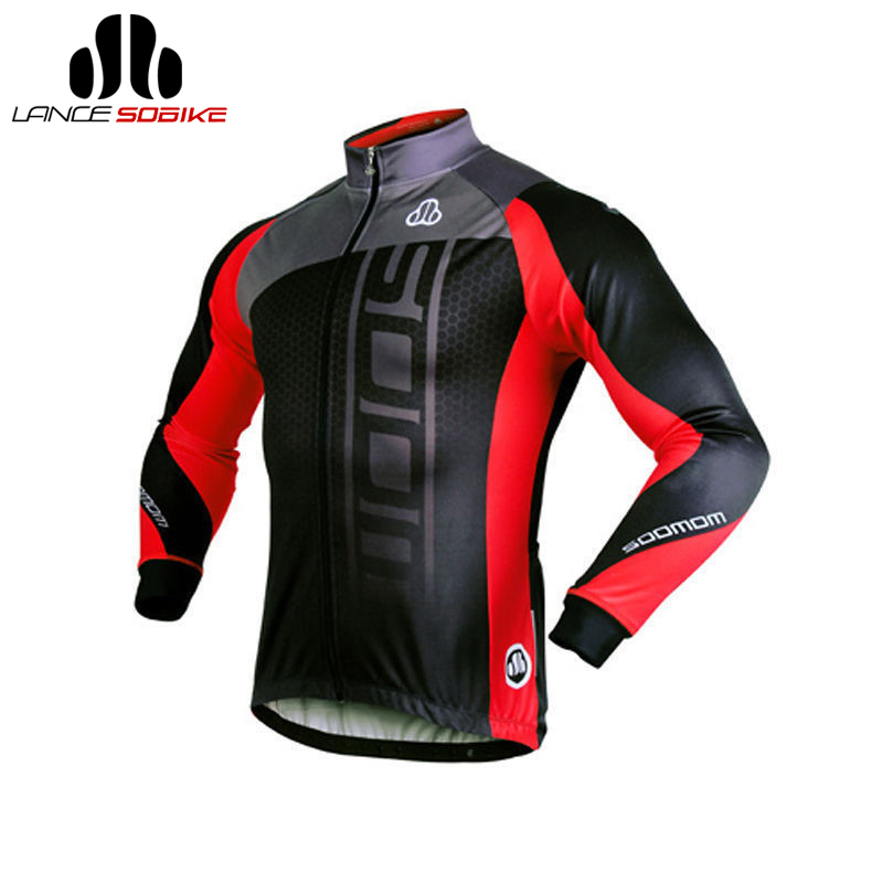 цена на SOBIKE Men's Women's Bike Bicycle Jersey Cycling Winter Fleece Thermal Jacket Long Jersey Long Sleeves-Michael Ciclismo Jaquetas