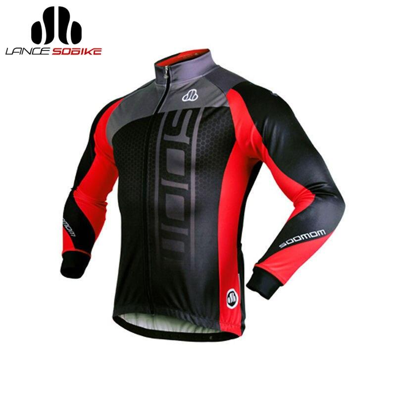 Sobike Мужская женская одежда велосипедные джерси велоспорт зимние руно тепловые куртка длинным рукавом-Michael велосипедная куртка велосипедны...