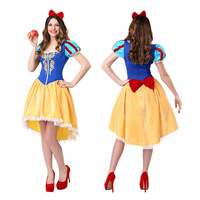 Snow White Princess Costume Adult Women Princess Cosplay Sexy Halloween Party Costumes for Woman
