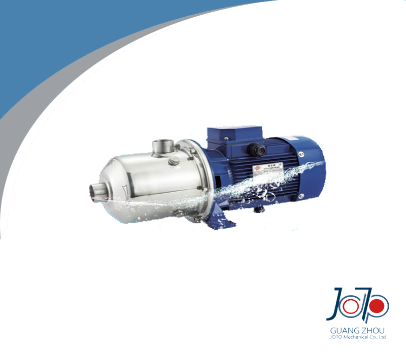 Pompe à plusieurs étages centrifuge triphasée d'acier inoxydable de DW16-20/220 380 V 50Hz
