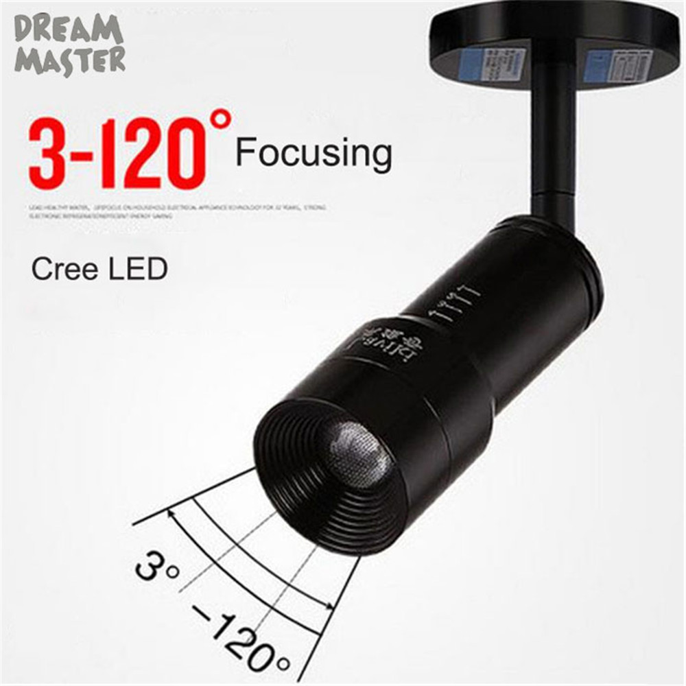 New zoom led ceiling light 3W 7W Cree LED zoomable lighting  home clothing store shop lamp silver white spot lighting Ceiling Lights     - title=