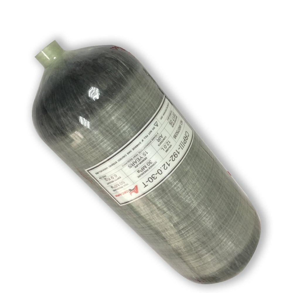 AC3120 réservoirs d'air de plongée 12L 300Bar haute pression cylindre de plongée en carbone pour pistolet Air comprimé Pcp Condor livraison directe Acecare