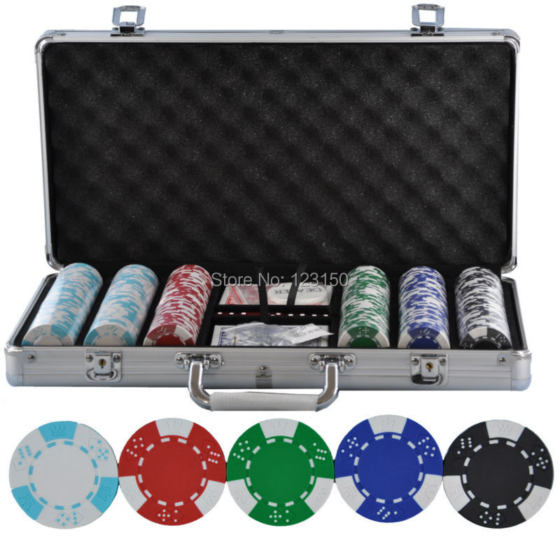 pk-5002-300pcs-chips-with-case-clay-14g-font-b-poker-b-font-chips-insert-metal-five-colors