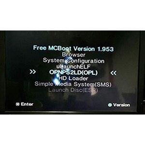 Image 5 - مجاني McBoot FMCB 1.953 لسوني بلاي ستيشن 2 PS2 8 ميجابايت/16 ميجابايت/32 ميجابايت/64 ميجابايت بطاقة الذاكرة بطاقات التوقف OPL MC التمهيد وحدة البيانات عصا