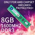 Heoriady Ddr3 8gb 1600 Mhz Pc Ram Just For Socket Am3 Fm1 Fm2 Fm2+ Compatible 1333 4gb 2gb