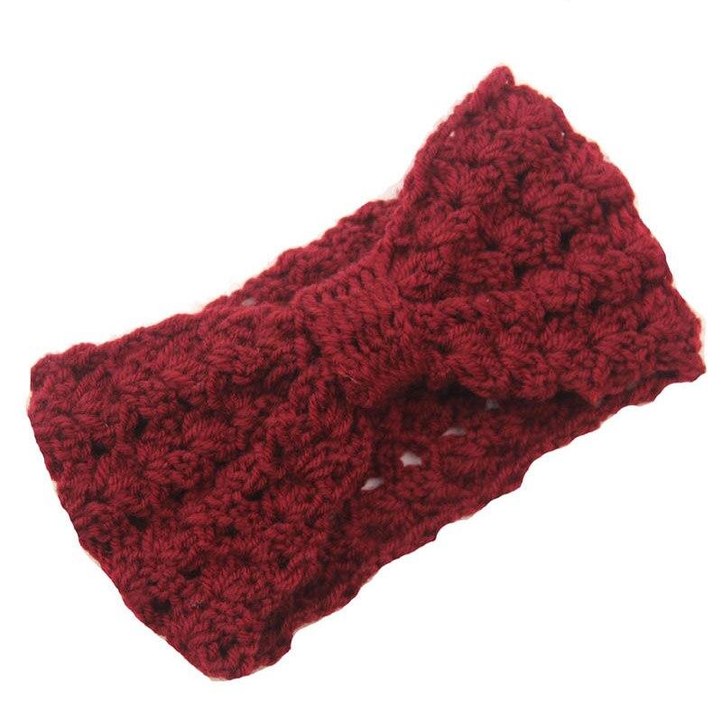 Womens Ladies Winter Crochet Pattern Headbands Knit Ear Wamer Twist