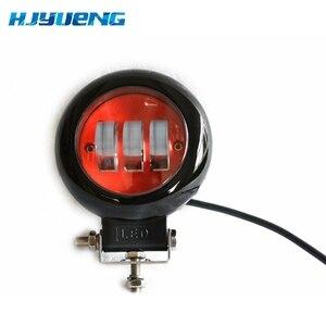 Image 3 - 2pcs LED עבודת מנורת 30W 12V 24V Led רכב ספוט אור לאדה ניבה טויוטה אופנוע טרקטור אוטומטי עבודת LED אור בר