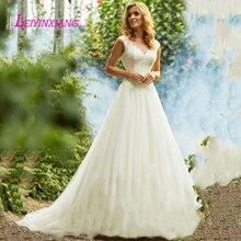 LEIYINXIANG Bride Dress Wedding Dress Backless Ball Gown