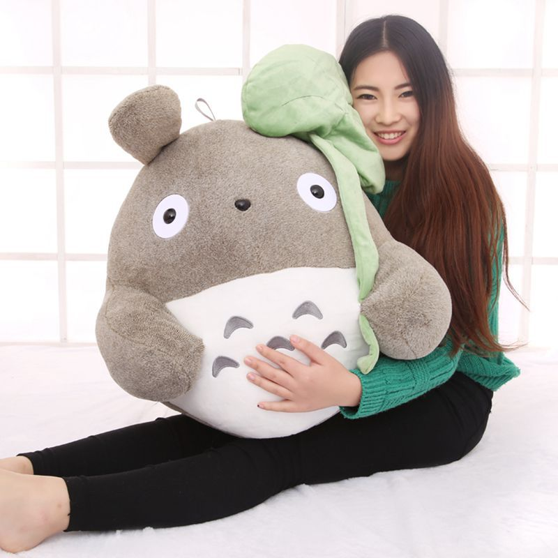 creative Lotus leaf style totoro plush toy large 50cm throw pillow,birthday gift w5231 indian mandala paisley lotus shape beach throw