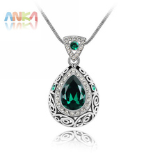 2016 Collares Mujer Sterling Jewelry Free Shipping Fine Drop Necklace Crystals from SWAROVSKI Crystal Pendant #83131