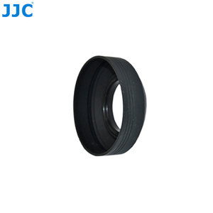 Image 3 - JJC Universal 3 in 1 Collapsible Silicone Lens Hood 46mm 49mm 52mm 55mm 58mm 62mm 67mm 72mm 77mm  Camera Lens Protector