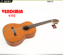 Professional Handmade 39 inch Acoustic Classical guitar With Solid Cedar/Mahogany Body +T,Classical guitar,Nature Gloss