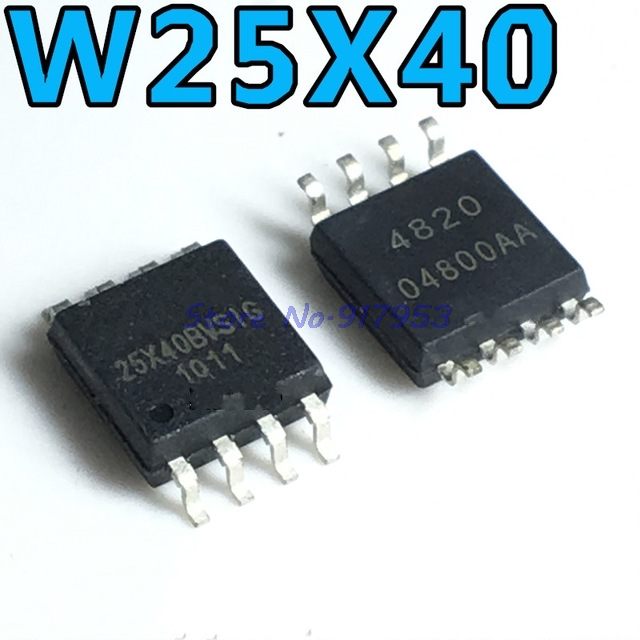 5pcs/lot W25X40BVSIG 25X40BVSIG 25X40BVSSIG 25X40 SOP-8 In Stock
