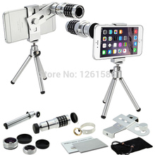 Discount! For Apple Iphone X 6S 7 8 Plus SE/For Huawei P 9 8 Lite J5 J Camera Smartphone 12x Tripod Telescope+3 Awesome Lenses+Clip Holder