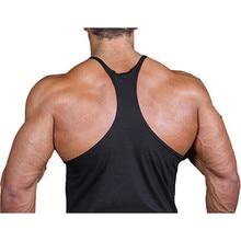 American Flag Design Stringer Singlets Cotton Gyms Tank Tops Muscular