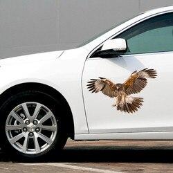 30*18 cm 3D Große Adler Auto Aufkleber Abziehbilder Wasserdicht Für Dekoration Simulation Aufkleber Für Autos Auto-Styling zubehör