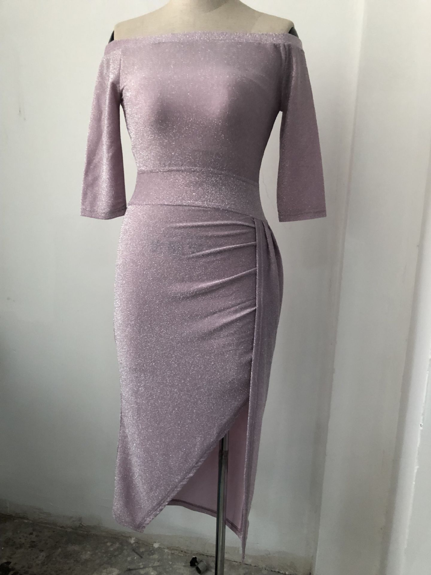 48c73df0d7747 UK Womens Cocktail Party Long Sleeve Bodycon Clubwear Long Split Dress Size  6 16-in Dresses from Women's Clothing on Aliexpress.com   Alibaba Group