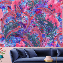 Psychedelic Orchid feather Mandala Tapestry Vintage Pattern colorful Flower Retro Wall Hanging Bohemian Home Decor Art Wall deco colorful feather pattern hoodie