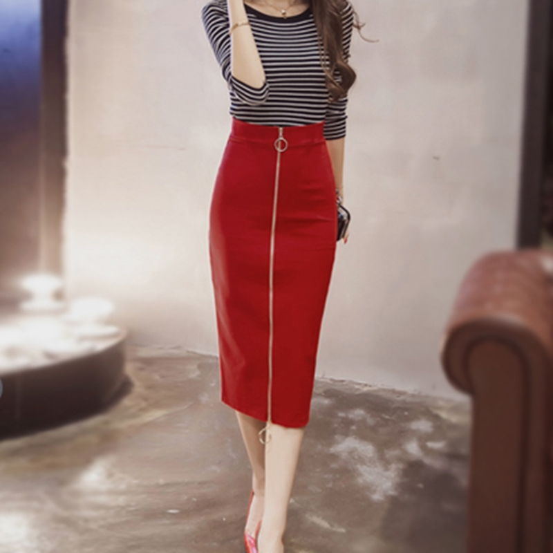 Online Buy Wholesale calf length pencil skirt from China calf ...