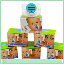 Hot Sales Practical Baby Kid LCD Digital Mouth Nipple Pacifier Thermometer Temperature X16