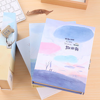 Coloffice Cute Creative Diary Notebook with Lock in Gift Box Personal Journal Thick Notepad Note Book Office School Notebooks